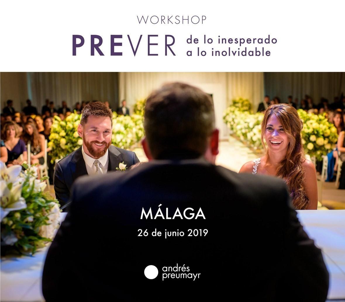 Workshop PREVER de lo Inesperado a lo inolvidable