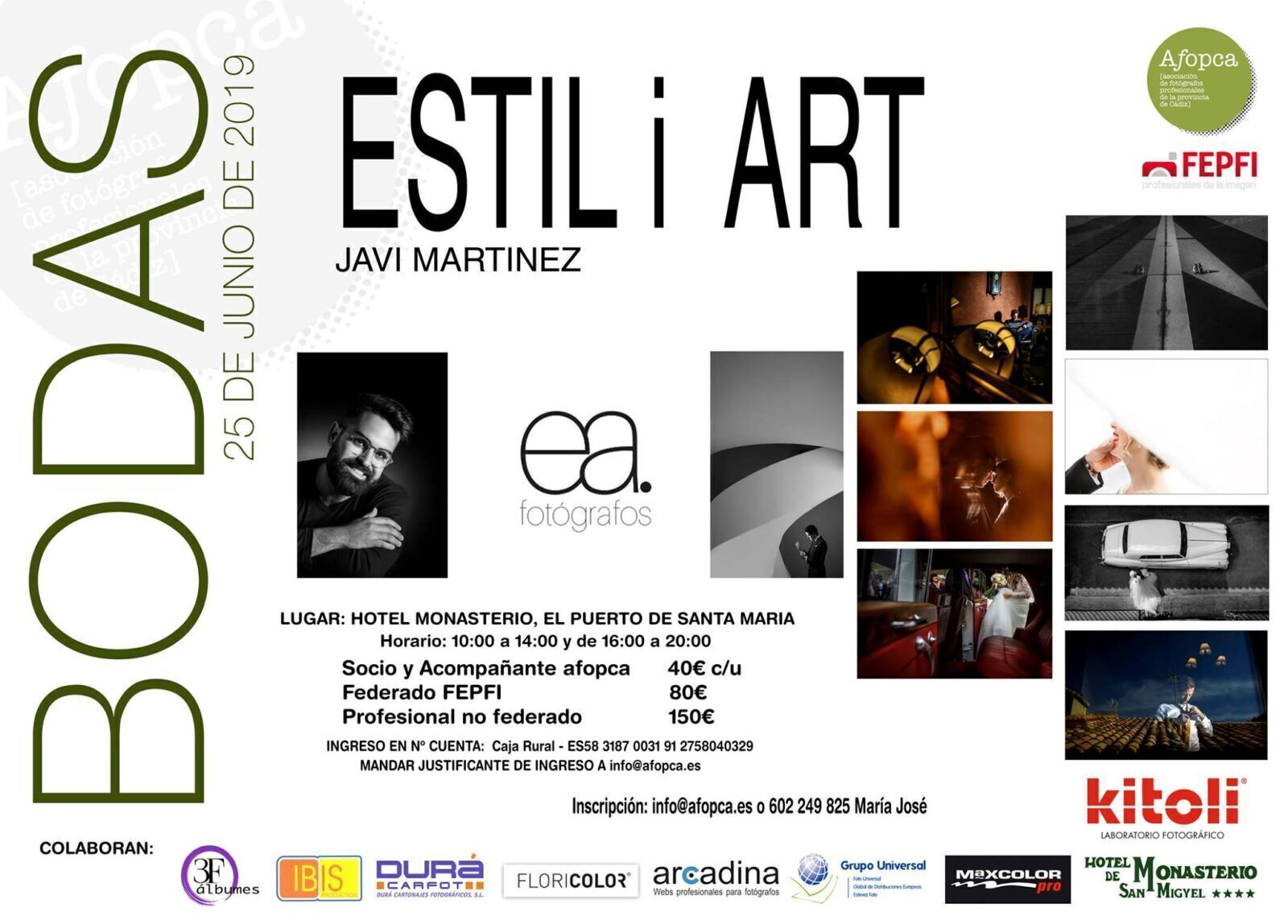 Workshop AFOPCA Javi Martinez Estil i Art