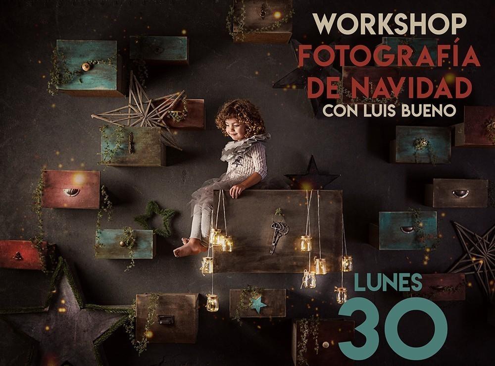 Workshop Fotografía de Navidad con Luis Bueno por AFOCAM