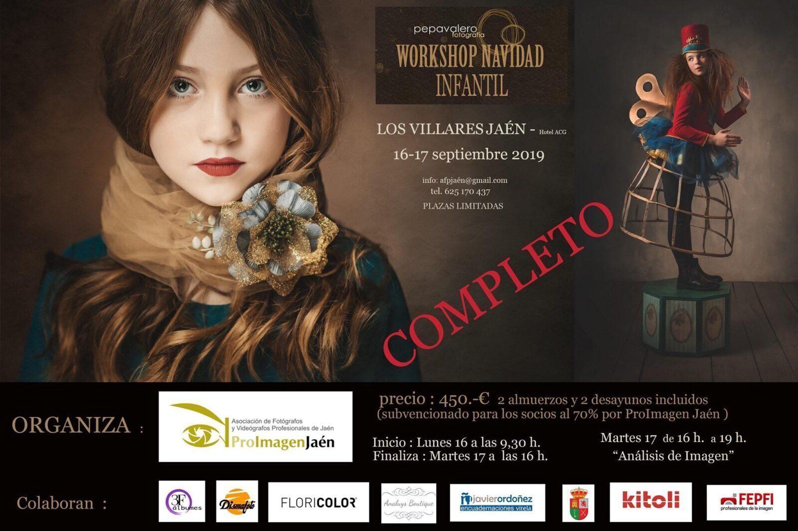 Workshop Navidad Infantil con Pepa Valero por ProImagen Jaén en Los Villares