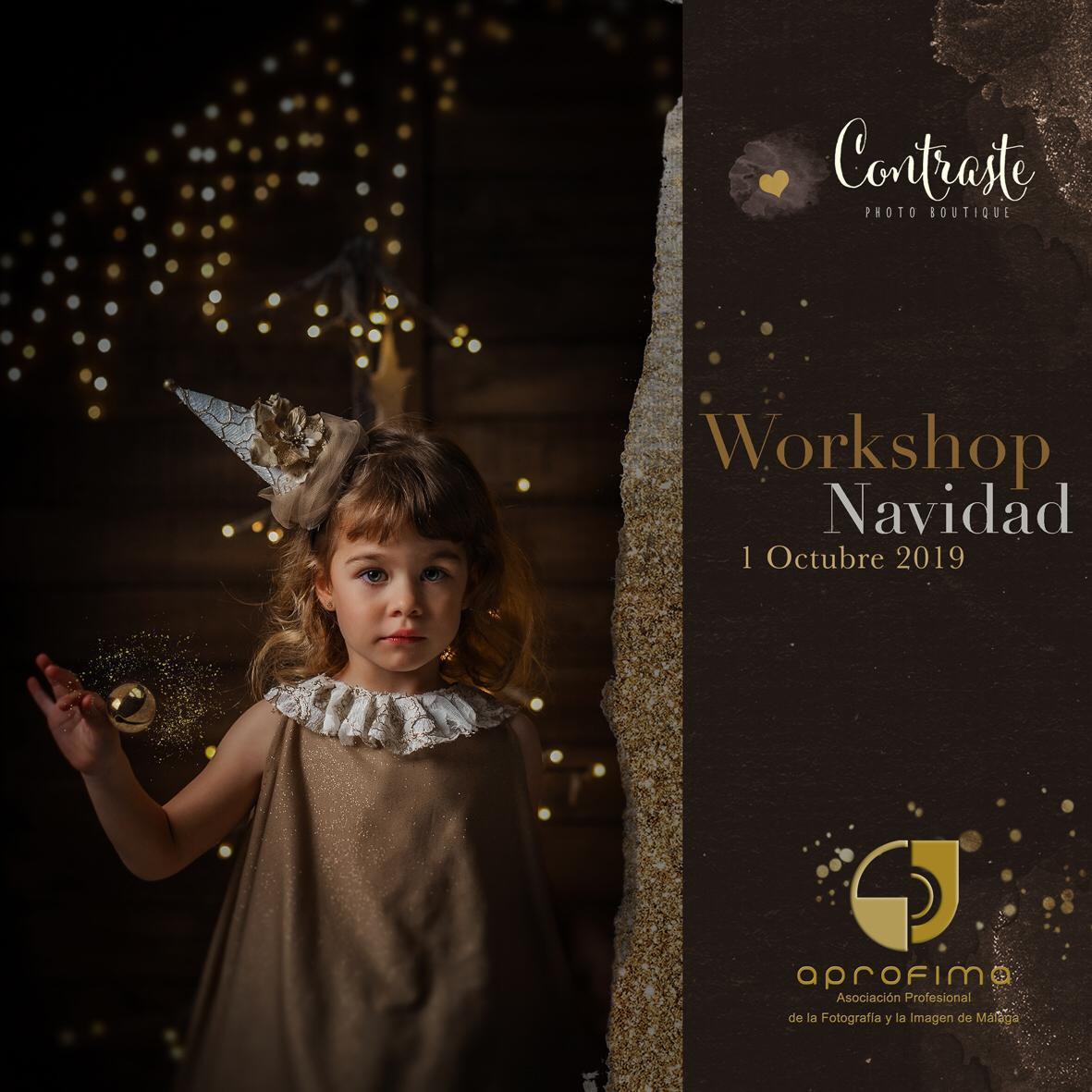Workshop de Navidad APROFIMA en Málaga por Contraste