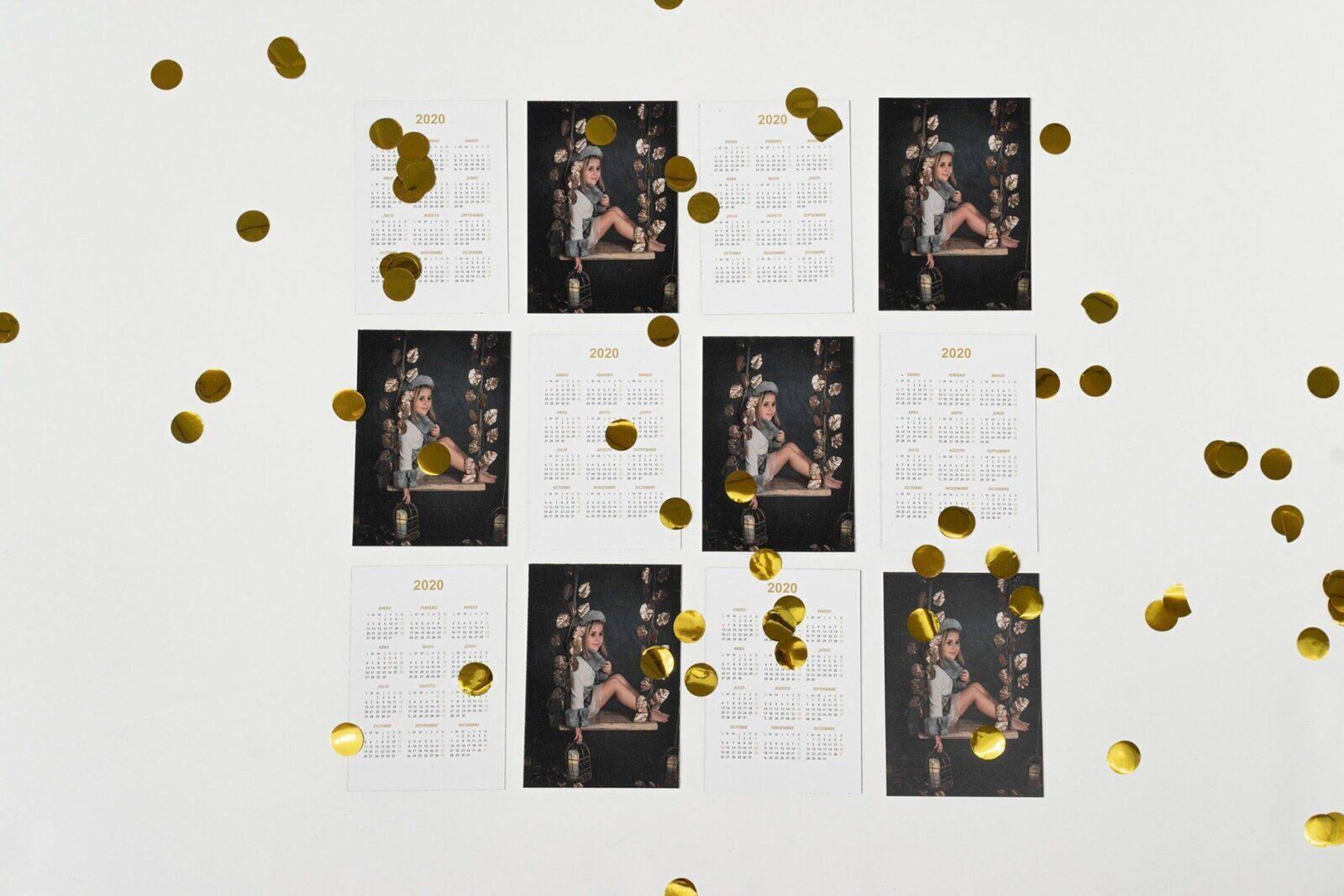 Lote 16 Calendarios Bolsillo