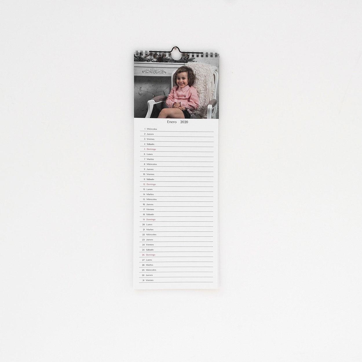 Calendario Pared Agenda
