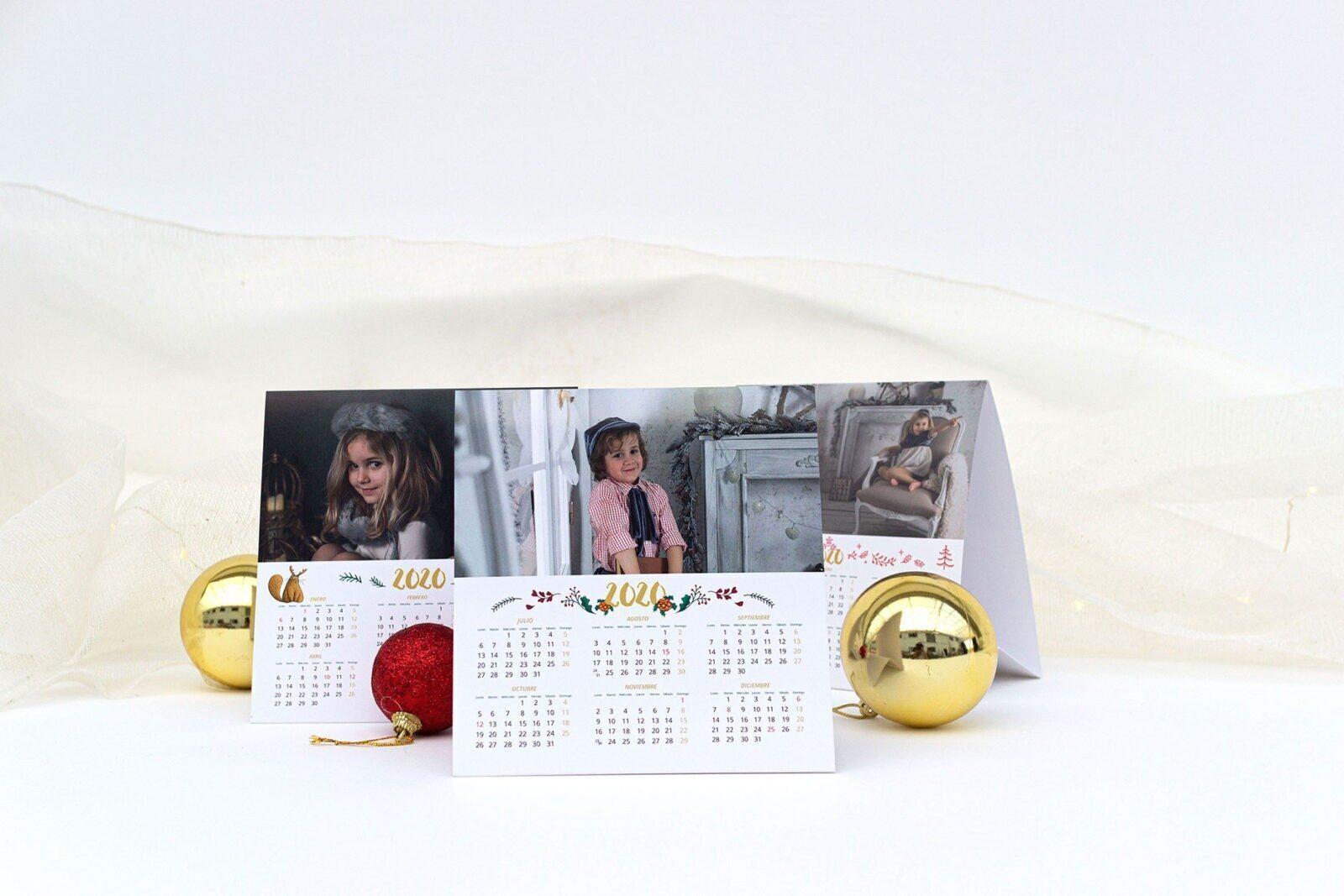 Lote 2 Calendarios Triangulares