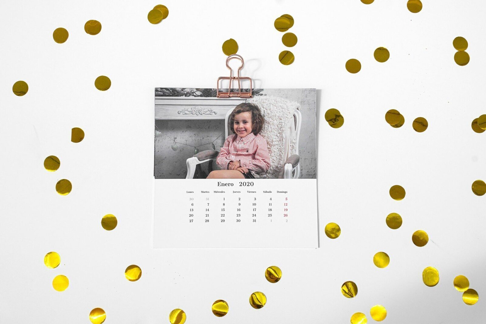 Calendario Pinza