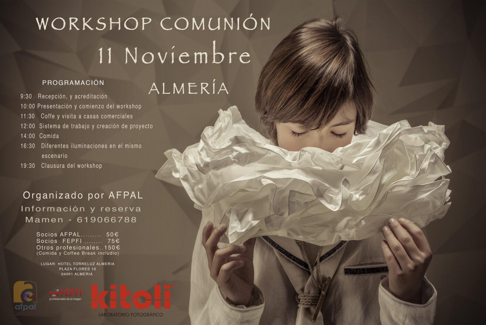 Workshop de Comunión con Dolores Martínez por AFPAL Almeria
